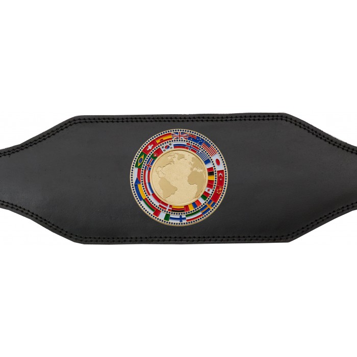 CHAMPIONSHIP BELT - BUD001/GLDFLAG - AVAILABLE IN 4 COLOURS